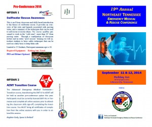 Download the Northeast TN EMS/Rescue Conference