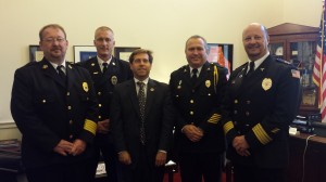 Congressman Chuck Fleischmann with TASA Board Members