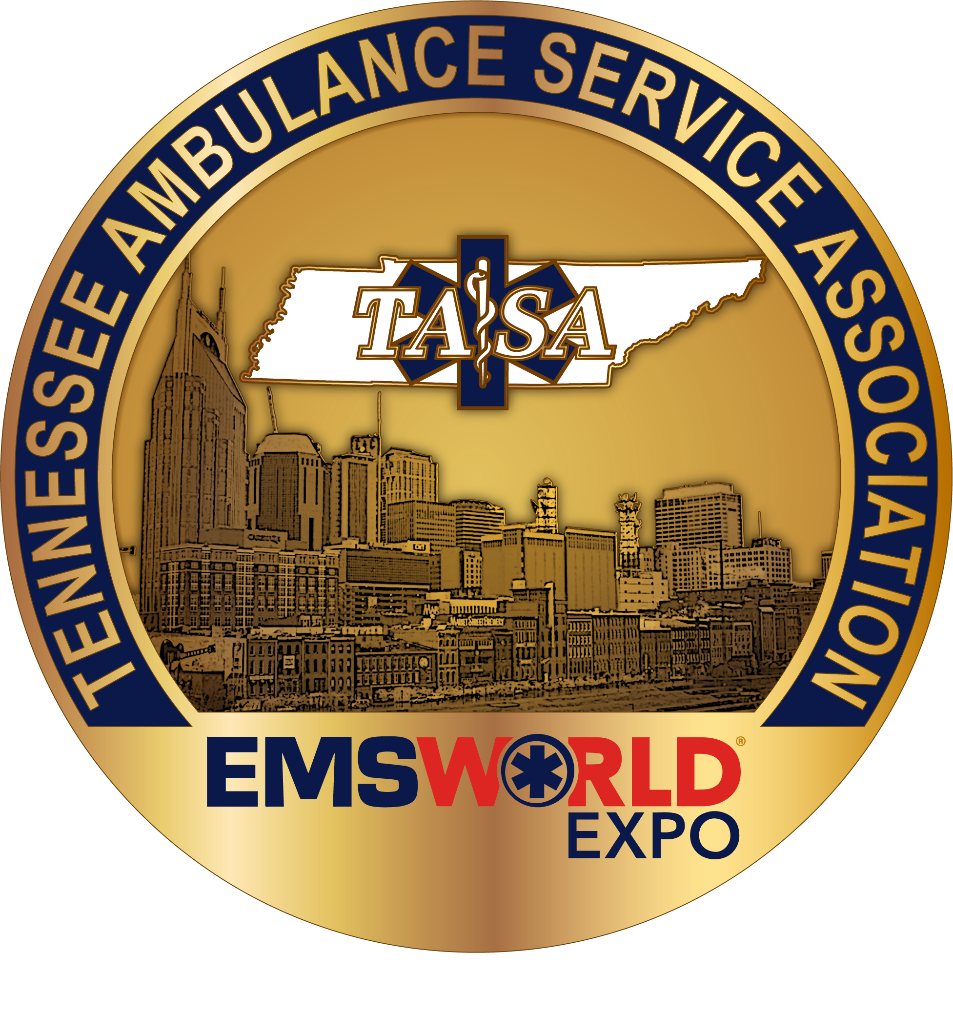 TASA/EMS World 2018 Challenge Coin